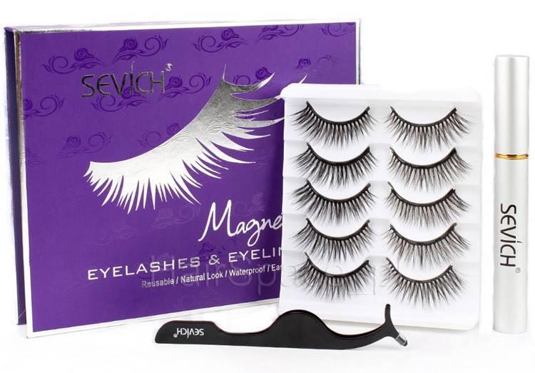 Sevich Magnetic Eyelashes & Eyeliner - foto 1